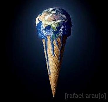 A Terra não passa de um delicioso sorvete...