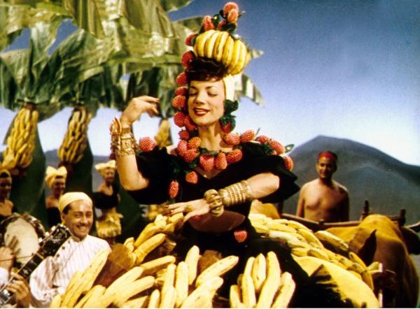 Oh yeah... bananas!!! We've got!!! Carmem Miranda.