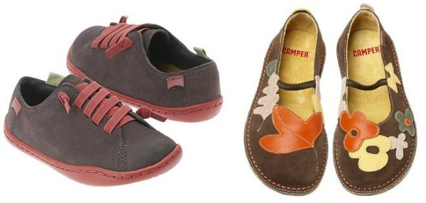Camper shoes: andando mais devagar.