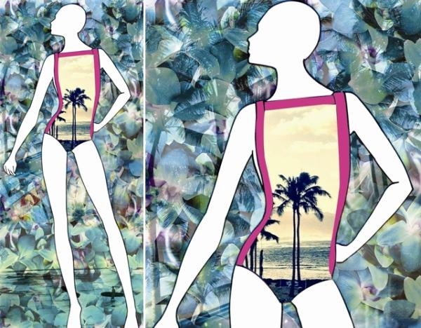 Croqui da Cia. Marítima para o verão 2013, a ser apresentado no próximo Fashion Rio.