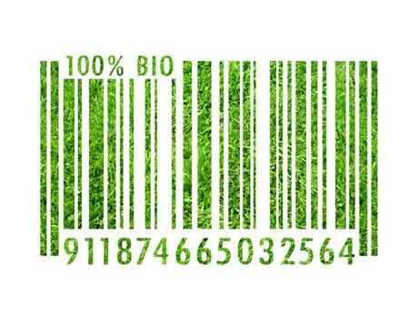 Código de barras de produtos verdes: a comercialização está se consolidando.