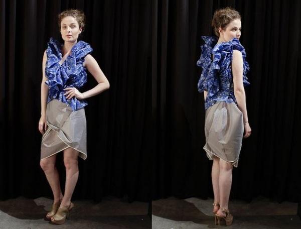 Em todo caso, o desafio criativo de se projetar roupas com guarda-chuva é o que realmente importa! Taí um resultado sofisticado.