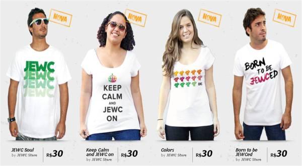 JEWC 2012 t-shirts.