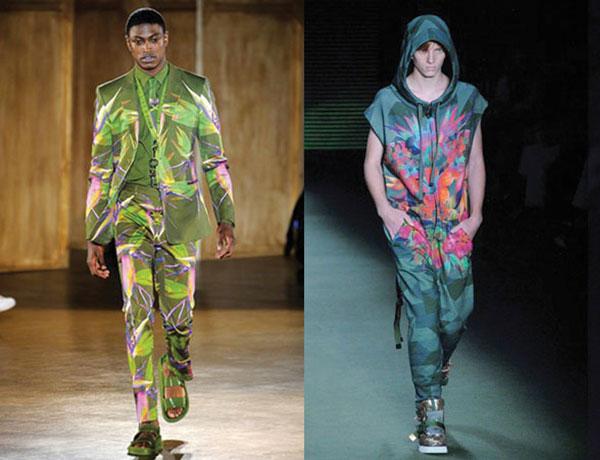 """À esquerda, a Givenchy. À direita, a Osklen. A Osklen """"jura de pé junto"""" que não copiou a Givenchy."""