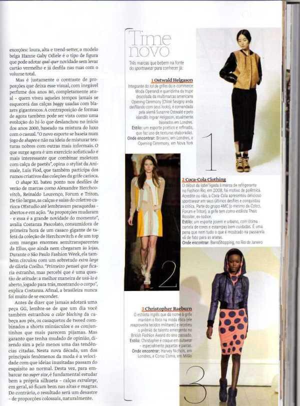 Moda ética na Vogue Brasil, p. 89, julho 2012.