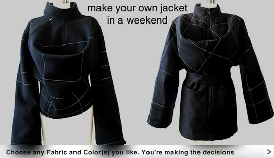 Jaqueta da SANS: baixe o molde na net, escolha seus tecidos e faça você mesmo (do it yourself) em casa!