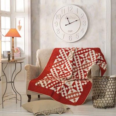 Pano para sofá em patchwork.