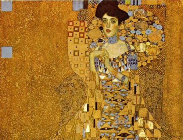 Adele, de Klimt.