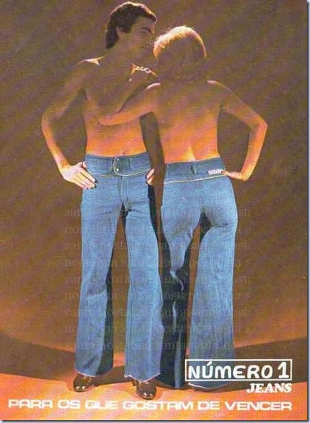 Publicidade de jeans brazuca dos anos 1970. Fonte da imagem: http://www.classicacompimenta.com.br/