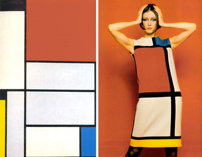 Mondrian e Yves Saint Laurent