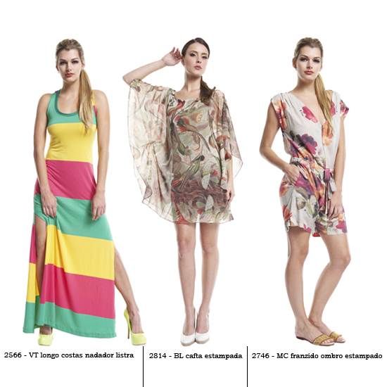 Green Co. verão 2013: esse vestido do meio (com essa estampa) é... sem palavras... lindo demais!!