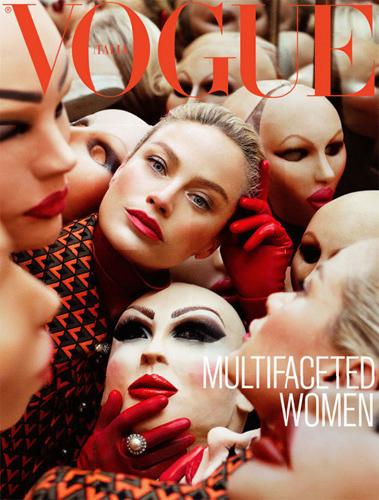 Vogue Itália setembro 2012: Carolyn Murphy por Steven Meisel.