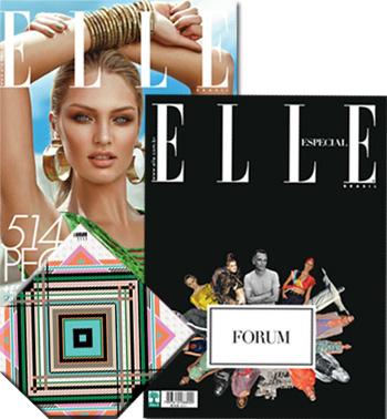 Elle de setembro 2012: belo lenço, ação ordinária.