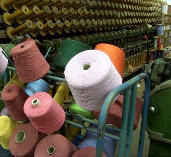 Importação de têxteis.