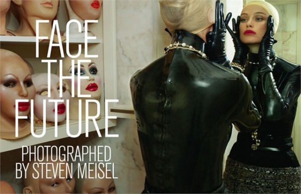 Face the Future: isso é editorial de moda...