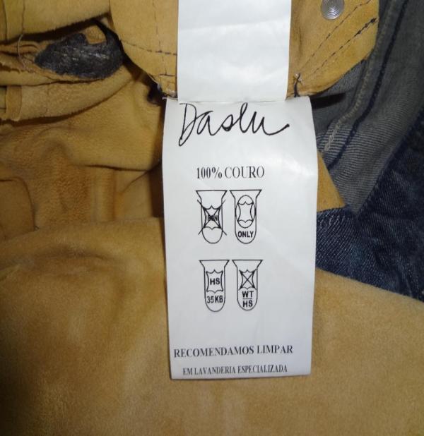 Daslu adota nova simbologia de etiquetagem do couro.