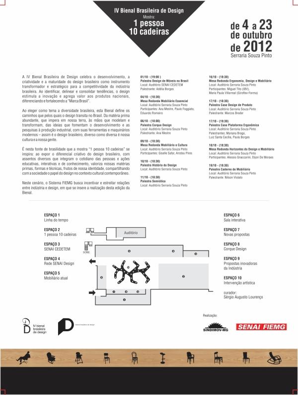 Programação da mostra