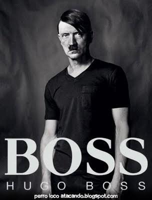 Hugo Boss fornecia uniformes para os nazistas de Hitler.