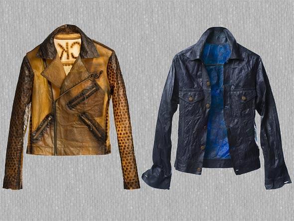 Bio couture: tecidos por bactérias, de Suzanne Lee.