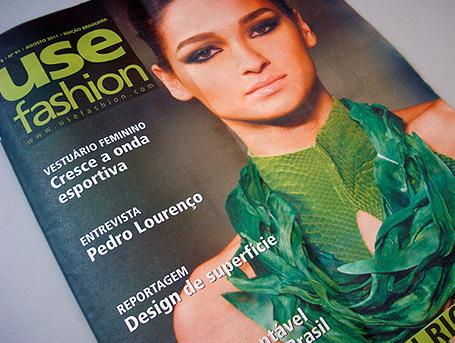 Jornal impresso do UseFashion.