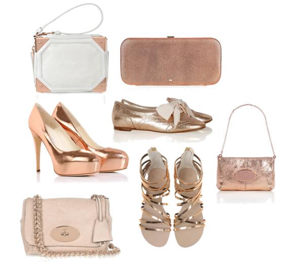 Cheda do ouro rosé se popularizou para as bijoux e se estendeu aos acessórios e vestuário!!